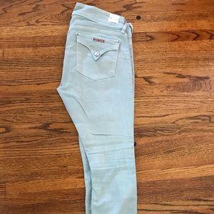 Hudson Mint Crop Jeans!